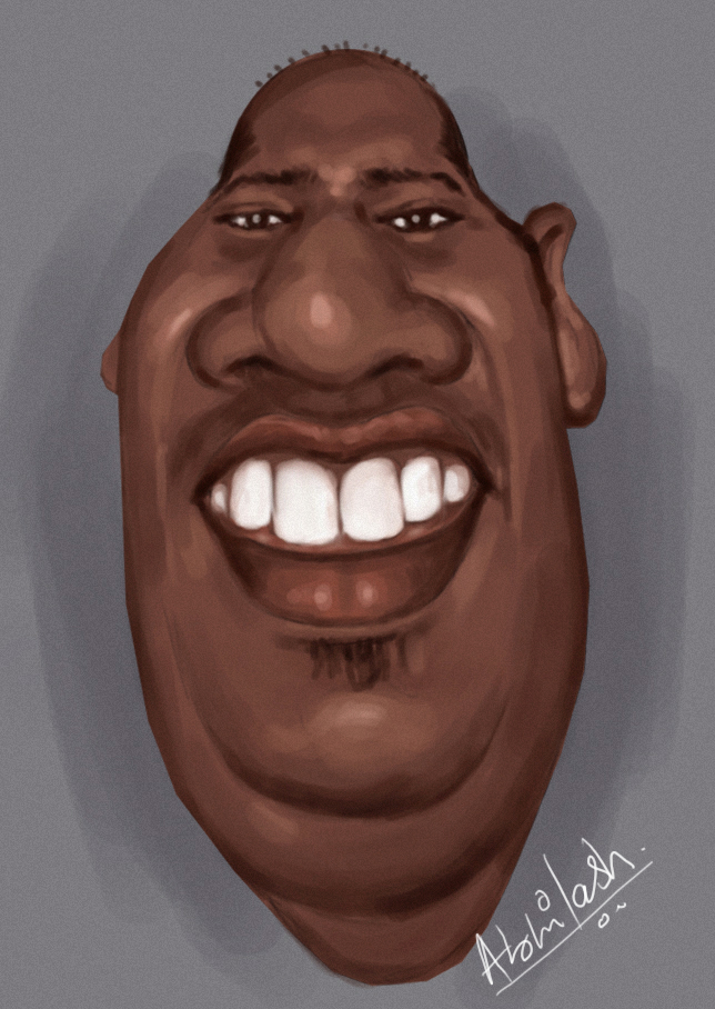 Gounder's caricature
